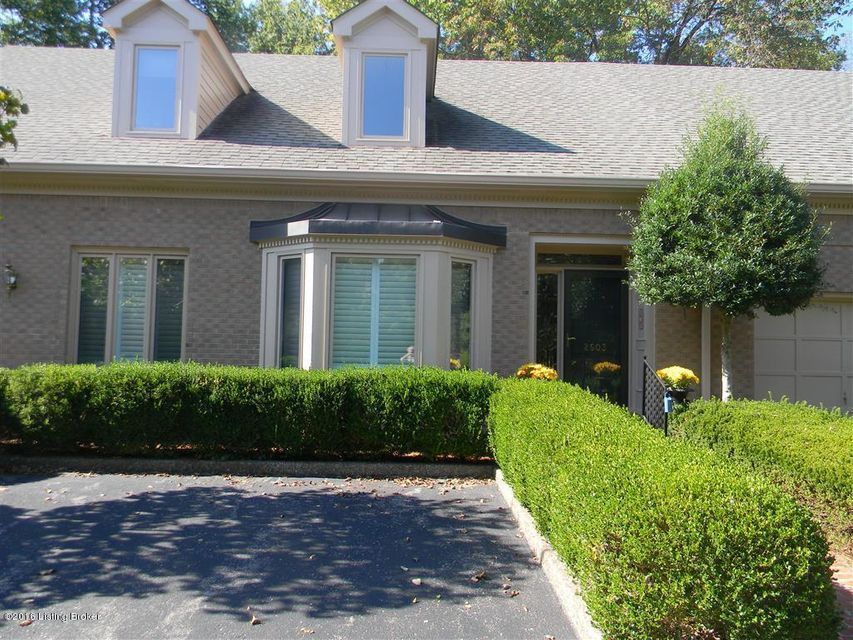 Condominium for Sale at 2603 Seminary Drive Louisville, Kentucky 40241 United States