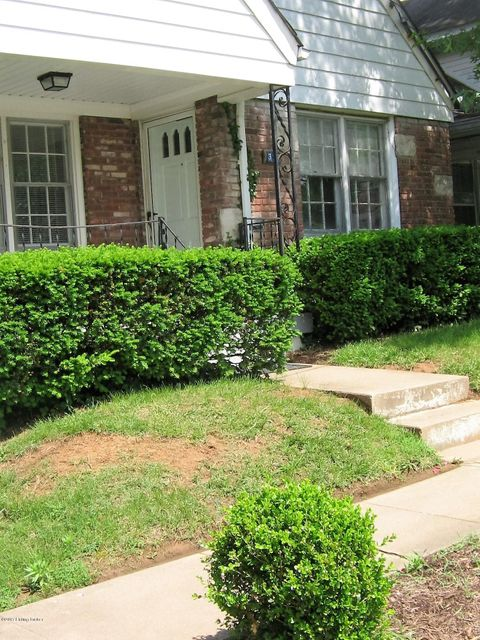 Single Family Home for Sale at 313 Iola Road Louisville, Kentucky 40207 United States