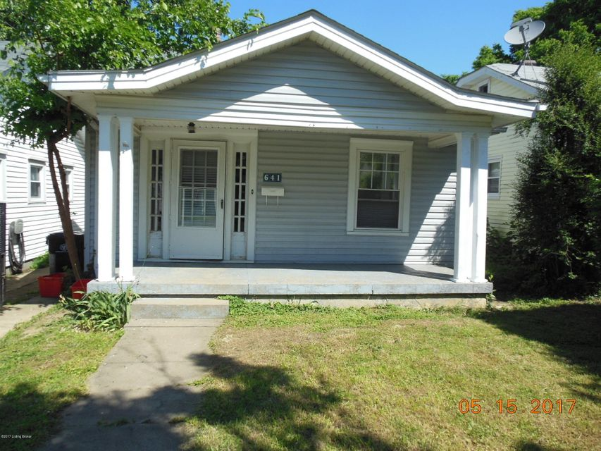 Single Family Home for Sale at 641 Merwin Avenue Louisville, Kentucky 40217 United States