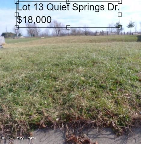 lot 13 quiet springs Dr, Bardstown, KY 40004
