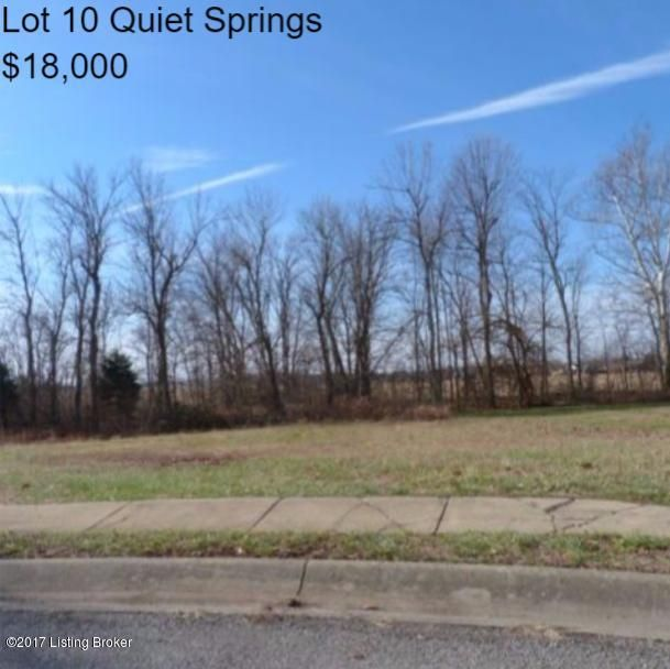 lot 10 quiet springs Dr, Bardstown, KY 40004