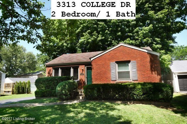 Single Family Home for Rent at 3313 College Drive Jeffersontown, Kentucky 40299 United States