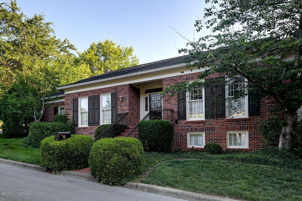 Single Family Home for Sale at 16 Brownsboro Hill Road 16 Brownsboro Hill Road Louisville, Kentucky 40207 United States