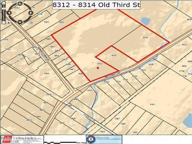 Land for Sale at 8312 Old 3rd Street Louisville, Kentucky 40214 United States