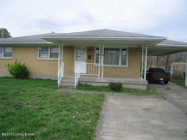 Single Family Home for Sale at 4013 Dana Drive Louisville, Kentucky 40216 United States