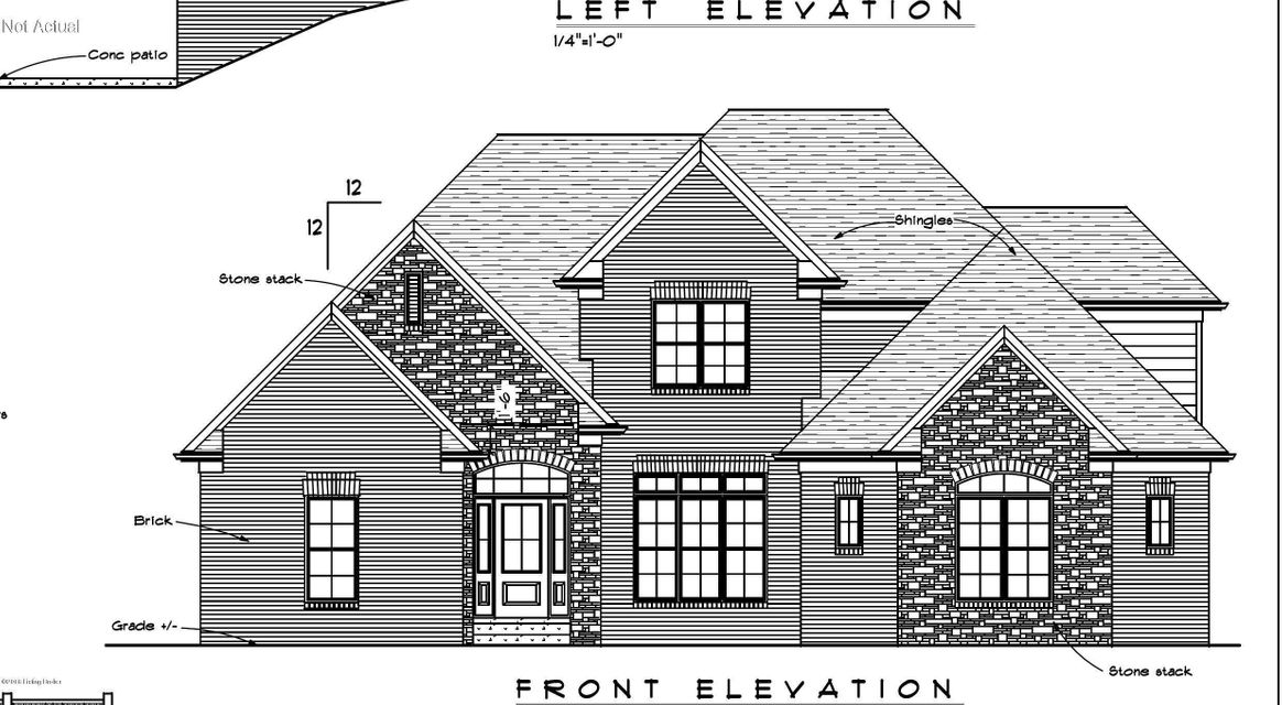 Single Family Home for Sale at Lot 7 Academy Estates Court Louisville, Kentucky 40245 United States