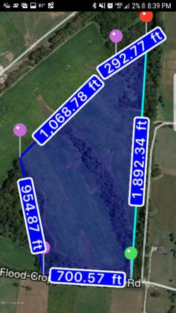 Land for Sale at 1 Flood Shelbyville, Kentucky 40065 United States