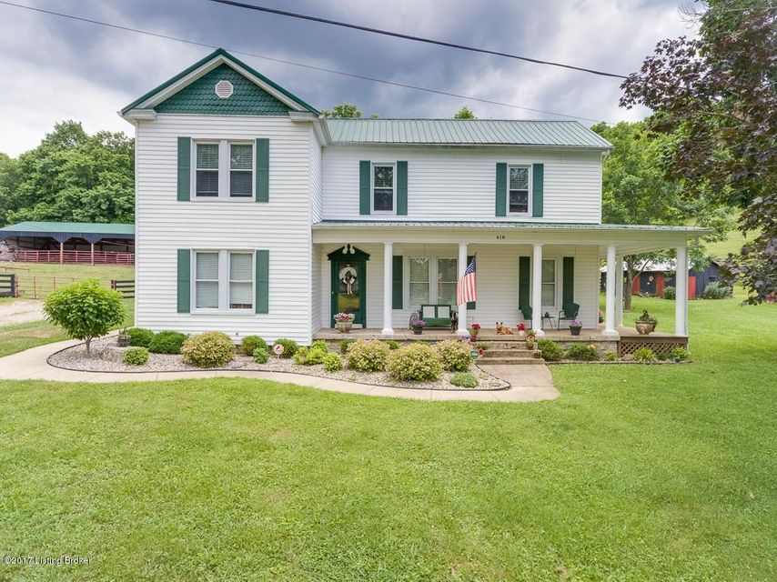 Single Family Home for Sale at 418 Grigsby Lane Coxs Creek, Kentucky 40013 United States