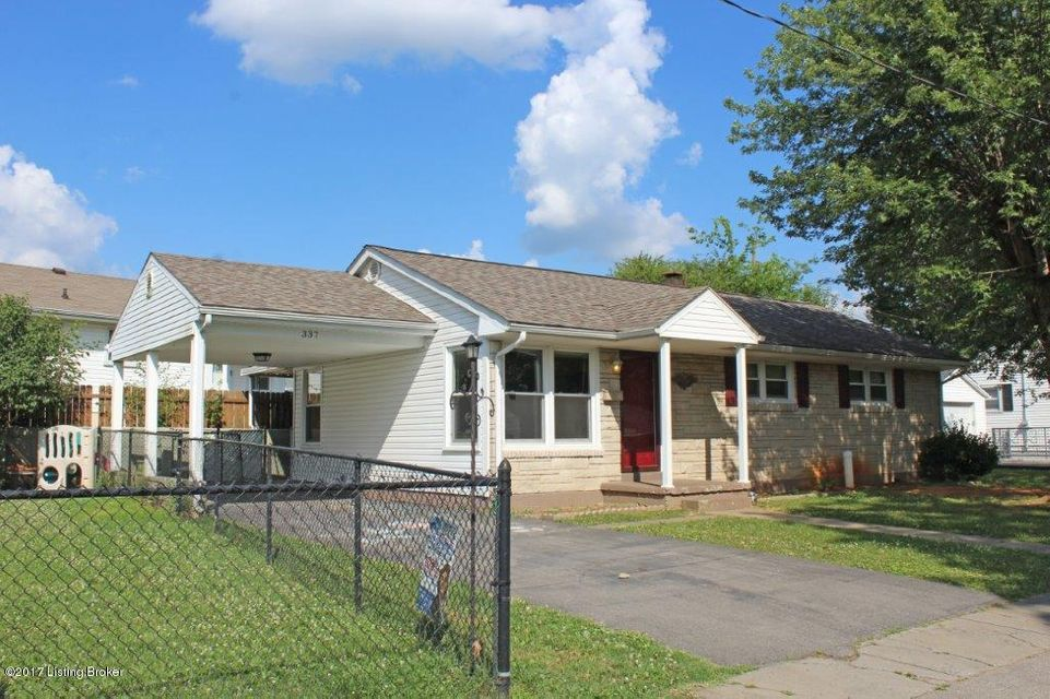 Single Family Home for Sale at 337 Meadow Lane Elizabethtown, Kentucky 42701 United States