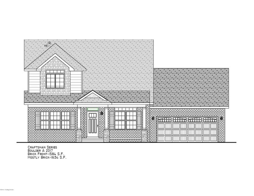 Single Family Home for Sale at Lot 417 New Christman Lane Lot 417 New Christman Lane Shepherdsville, Kentucky 40165 United States