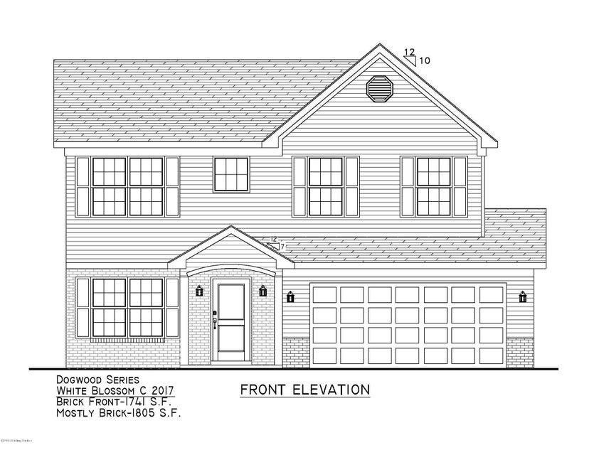 Single Family Home for Sale at Lot 327 Garnette Court Mount Washington, Kentucky 40047 United States