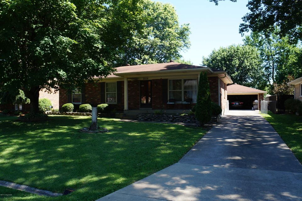 Single Family Home for Sale at 3509 Dorset Road Louisville, Kentucky 40214 United States