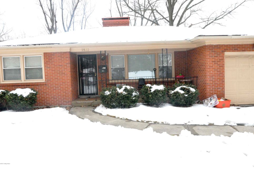 Single Family Home for Sale at 3522 Gladden Drive Louisville, Kentucky 40218 United States