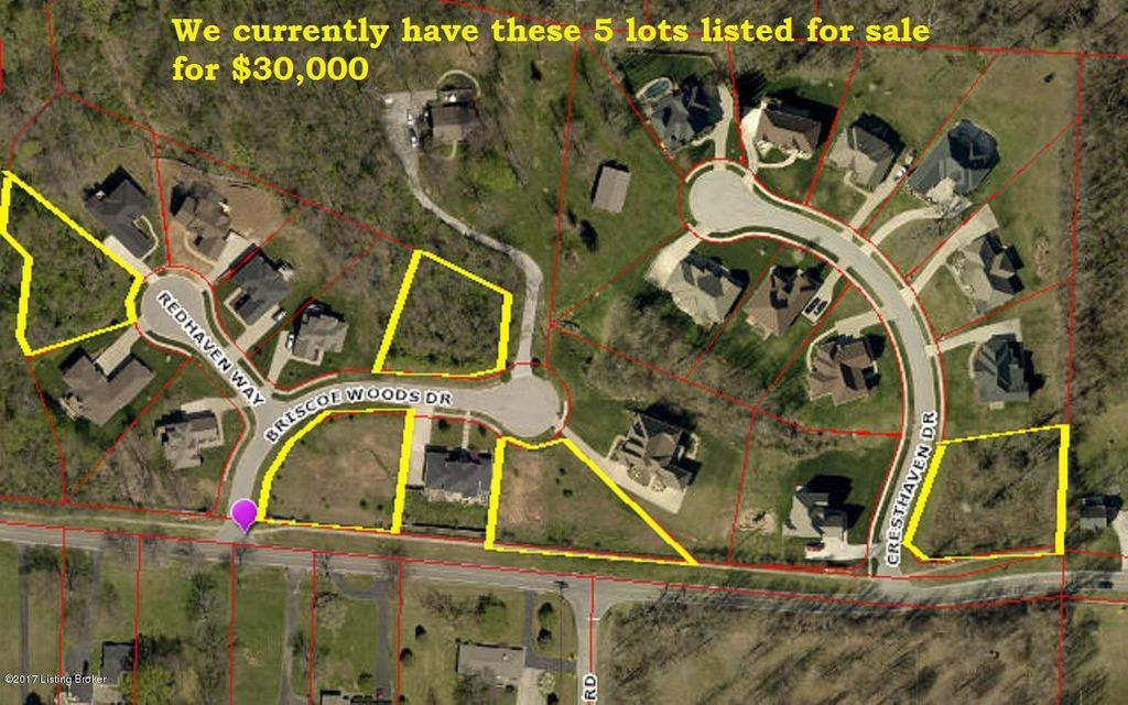 Land for Sale at 7903 Briscoe Woods 7903 Briscoe Woods Louisville, Kentucky 40228 United States