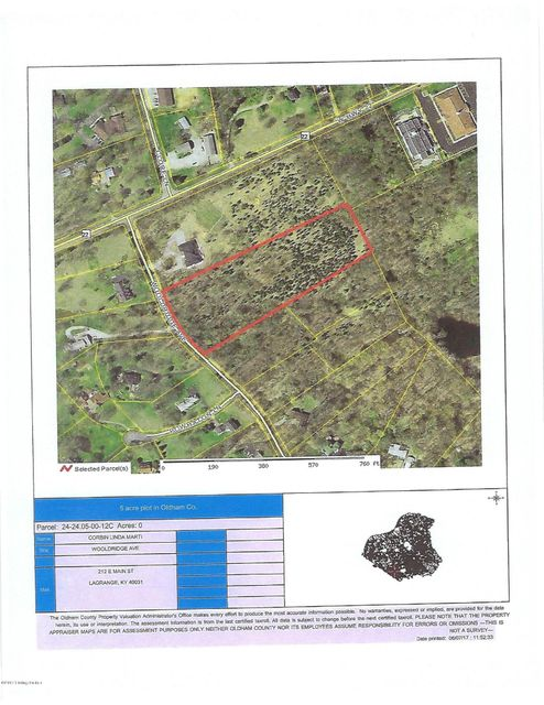 Land for Sale at 335 Wooldridge 335 Wooldridge Pewee Valley, Kentucky 40056 United States
