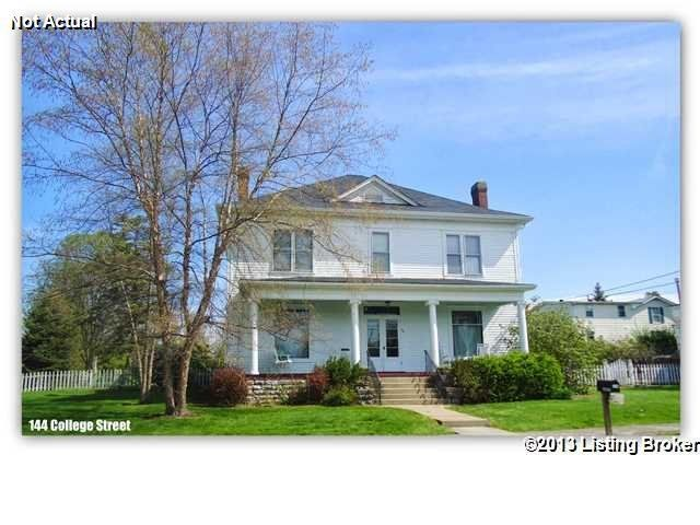 Single Family Home for Sale at 144 College Street New Castle, Kentucky 40050 United States