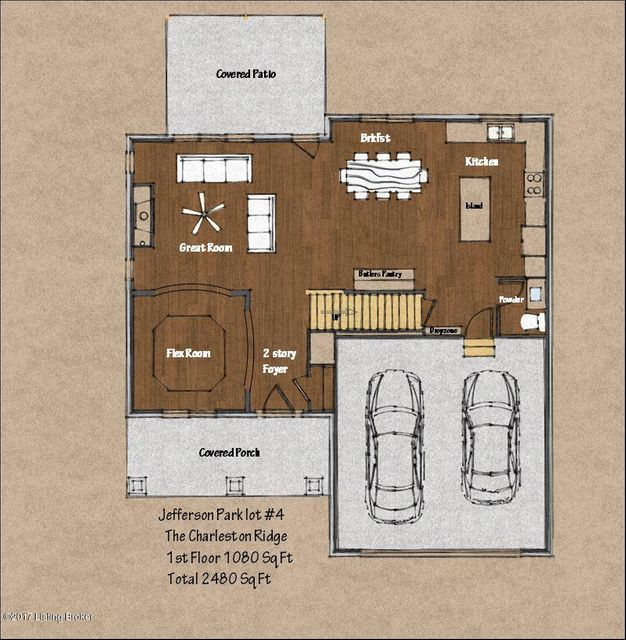 Additional photo for property listing at Lot #4 Jefferson Park Place  Louisville, Kentucky 40299 United States