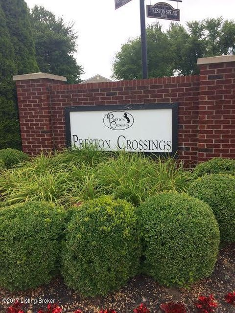 Condominium for Sale at 9601 Preston Spring Drive Louisville, Kentucky 40229 United States