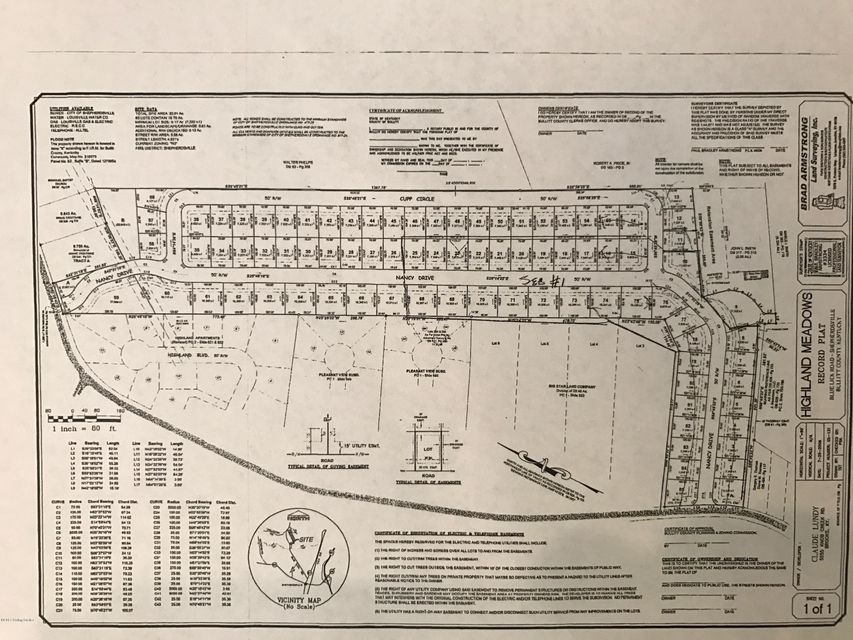 Land for Sale at Lot 22 Nancy Lot 22 Nancy Shepherdsville, Kentucky 40165 United States