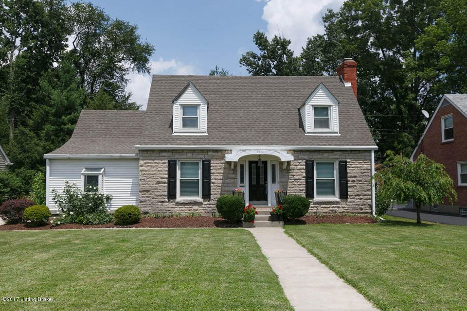 Single Family Home for Sale at 413 Breckenridge Lane Louisville, Kentucky 40207 United States