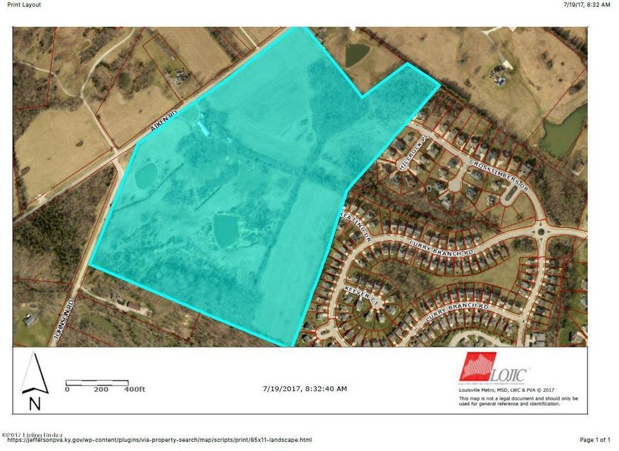 Land for Sale at 2 Aiken Louisville, Kentucky 40245 United States