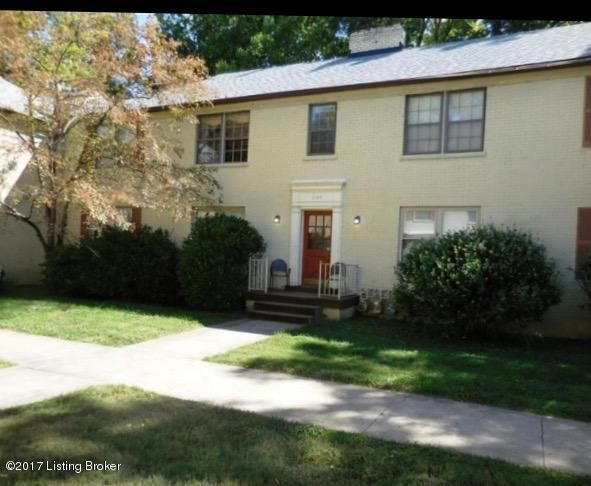 Condominium for Sale at 1129 Willow Avenue Louisville, Kentucky 40204 United States
