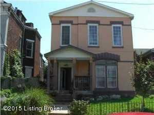 Single Family Home for Rent at 951 S Brook Street Louisville, Kentucky 40203 United States