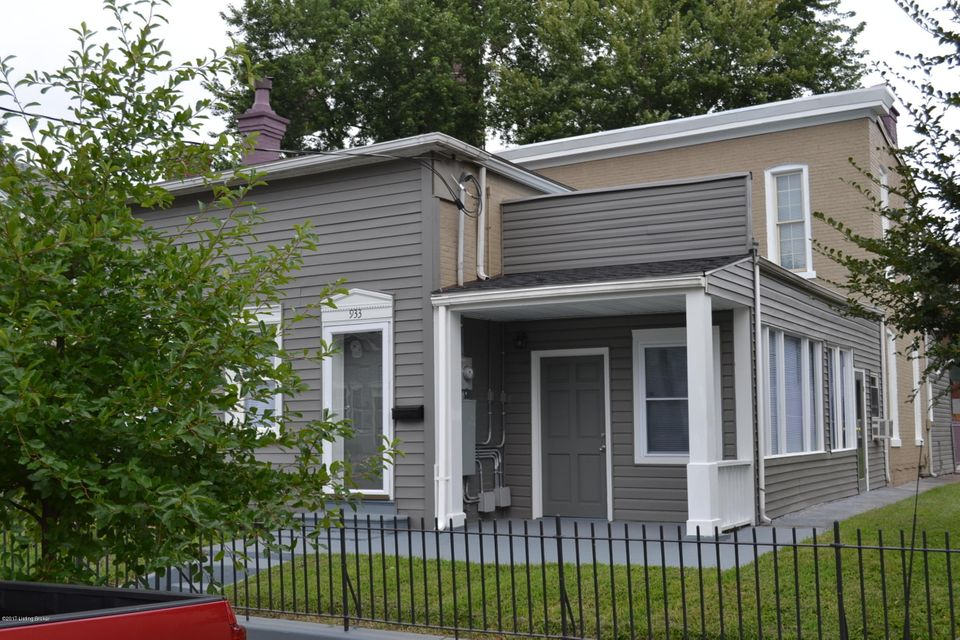 Single Family Home for Sale at 933 E Street Catherine Street Louisville, Kentucky 40204 United States