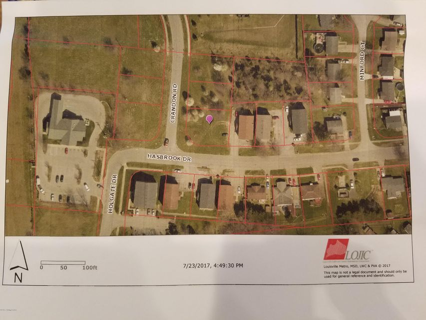 Land for Sale at 11223 Crandon 11223 Crandon Louisville, Kentucky 40229 United States