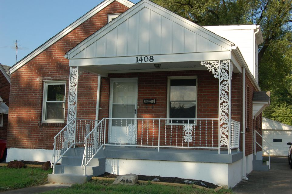 Single Family Home for Sale at 1408 Central Avenue Louisville, Kentucky 40208 United States