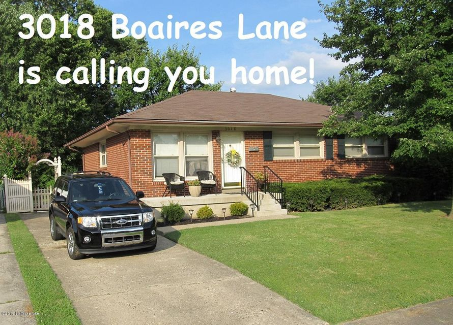 Single Family Home for Sale at 3018 Boaires Lane Louisville, Kentucky 40220 United States