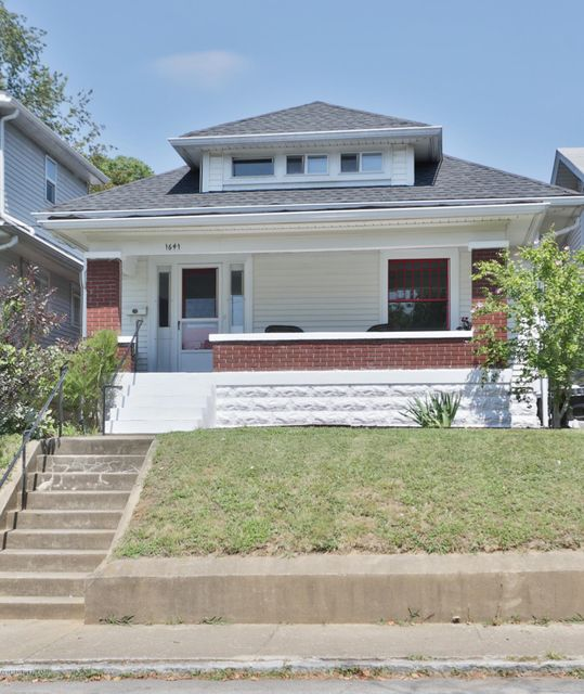 Single Family Home for Sale at 1641 Stevens Avenue Louisville, Kentucky 40205 United States
