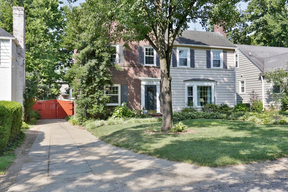 Single Family Home for Sale at 508 Morningside Drive Louisville, Kentucky 40206 United States