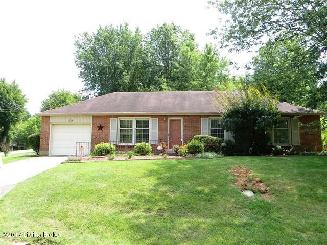 Single Family Home for Sale at 254 Redmar Lane Radcliff, Kentucky 40160 United States