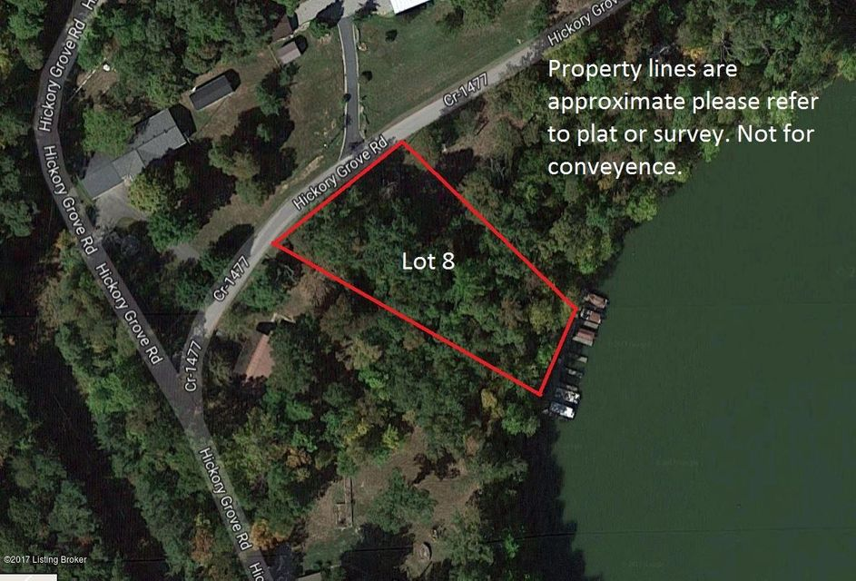 Land for Sale at Lot 8 Hickory Grove Lot 8 Hickory Grove Leitchfield, Kentucky 42754 United States