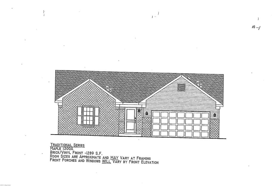 Single Family Home for Sale at Lot 511 Gadwall Court Lot 511 Gadwall Court Shepherdsville, Kentucky 40165 United States