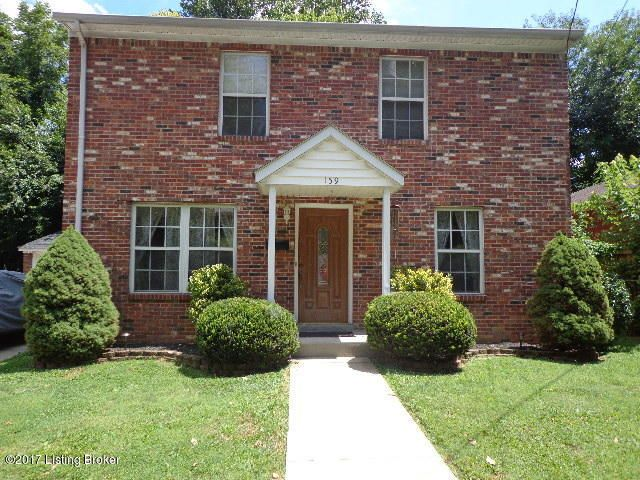 Single Family Home for Sale at 159 N Ewing Avenue Louisville, Kentucky 40206 United States
