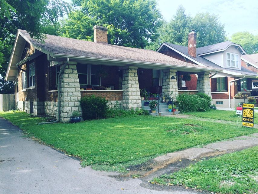 Single Family Home for Rent at 3917 Nanz Avenue Louisville, Kentucky 40207 United States