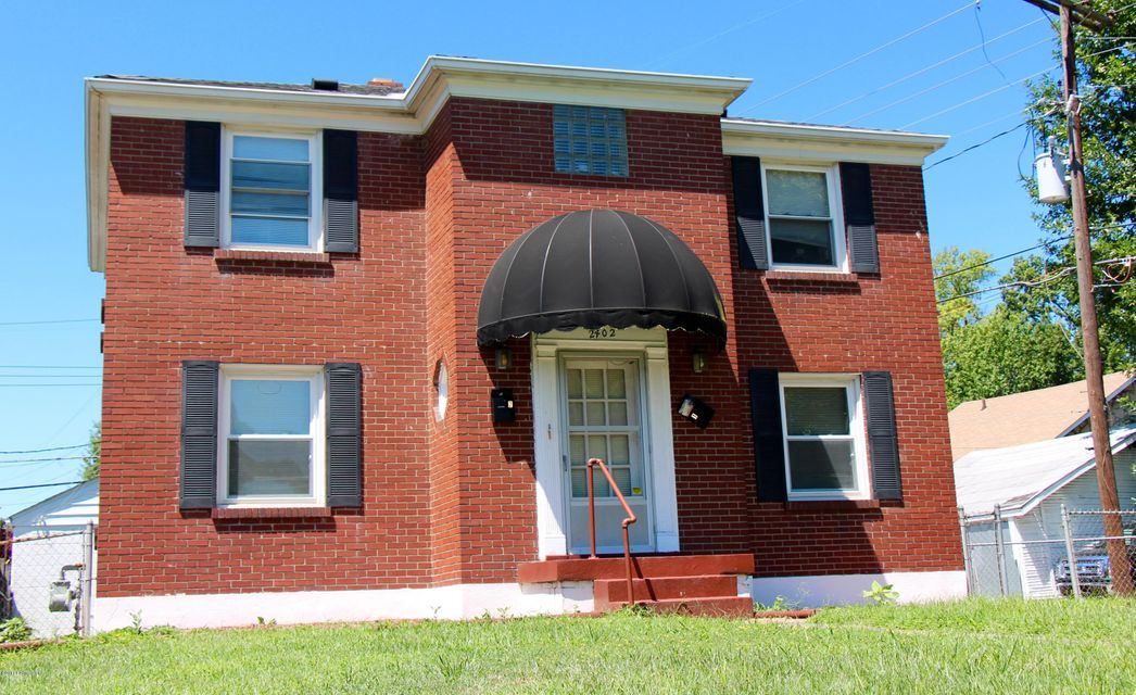Single Family Home for Rent at 2402 Bradley Avenue Louisville, Kentucky 40217 United States