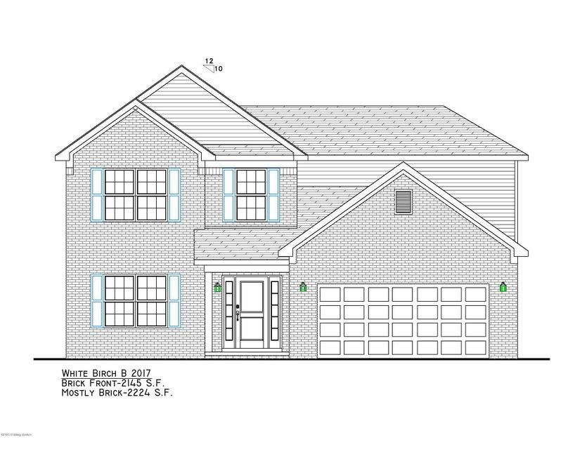 Single Family Home for Sale at Lot 538 South Autumn Ridge Drive Mount Washington, Kentucky 40047 United States