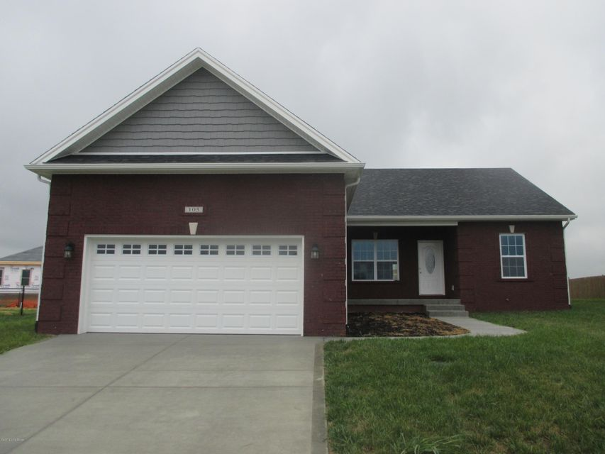Single Family Home for Sale at 105 Radford Court 105 Radford Court Elizabethtown, Kentucky 42701 United States