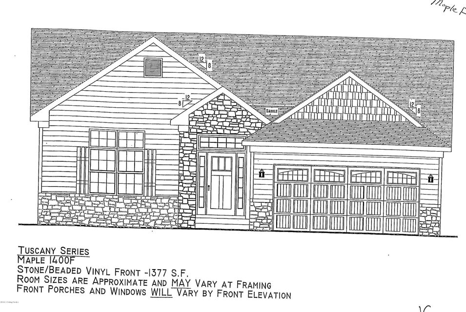 Single Family Home for Sale at Lot 50 Coldstream Court Mount Washington, Kentucky 40047 United States