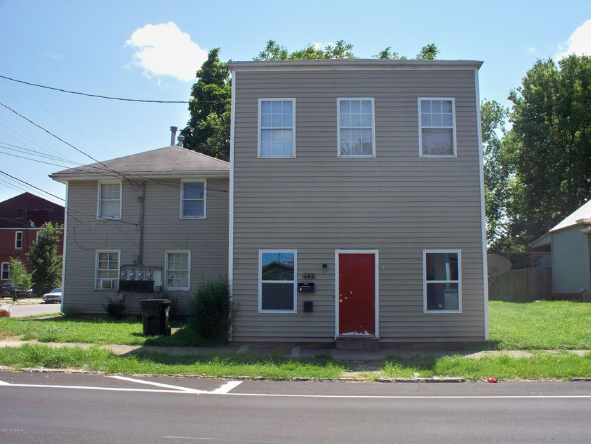 Multi-Family Home for Sale at 642 St. Catherine Louisville, Kentucky 40202 United States