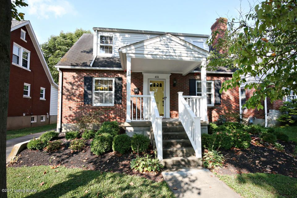 Single Family Home for Sale at 416 Eline Avenue Louisville, Kentucky 40207 United States