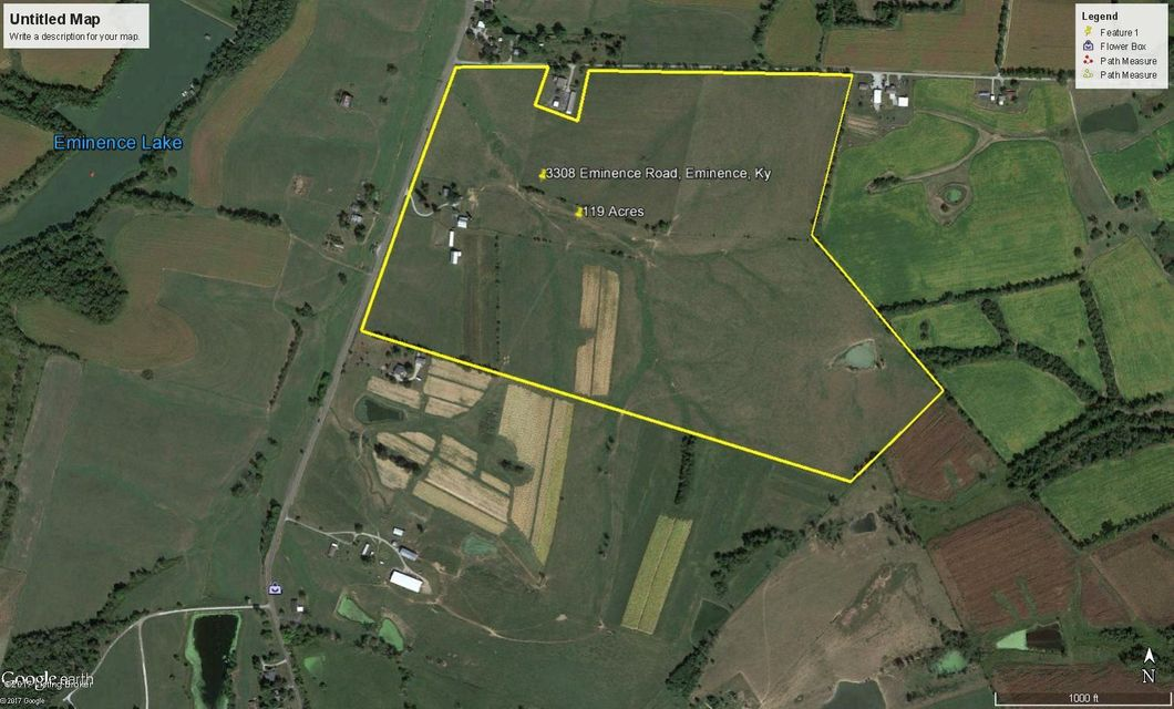 Farm / Ranch / Plantation for Sale at 3308 Eminence Road Eminence, Kentucky 40019 United States