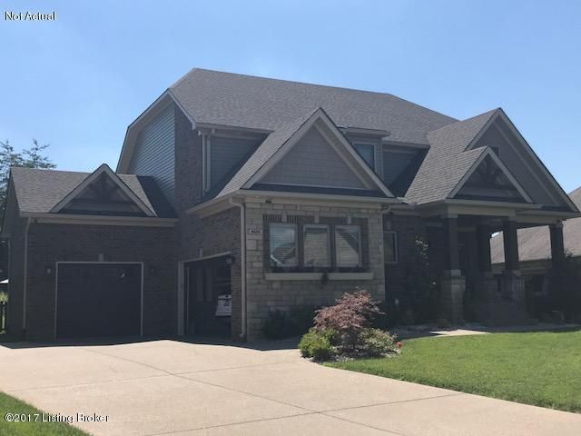 Single Family Home for Sale at Lot 52 Meadow Bluff Way Louisville, Kentucky 40245 United States
