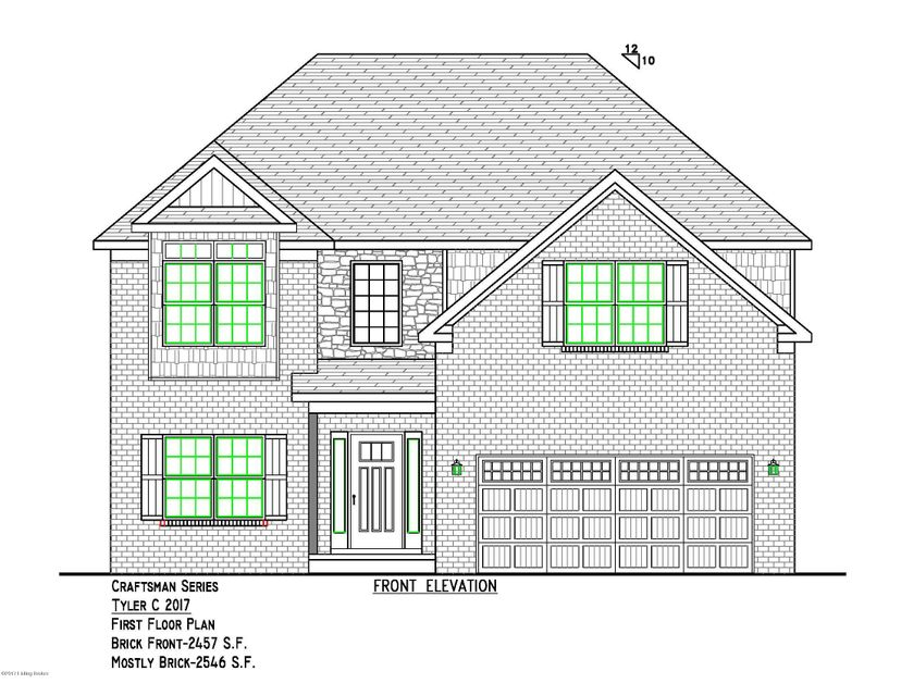 Single Family Home for Sale at Lot 618 Mallard Lake Blvd Lot 618 Mallard Lake Blvd Shepherdsville, Kentucky 40165 United States