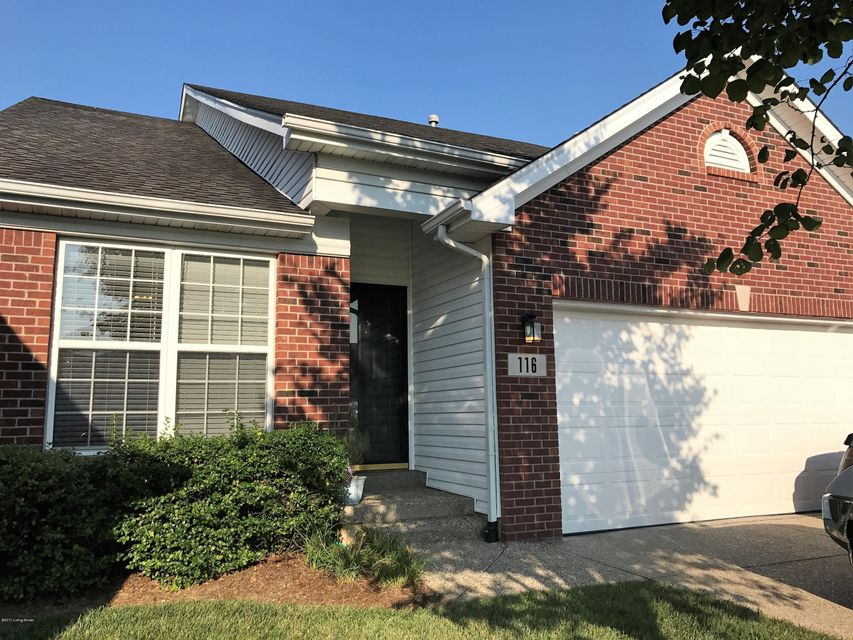 Condominium for Sale at 116 Charlton Wynde Drive Louisville, Kentucky 40245 United States