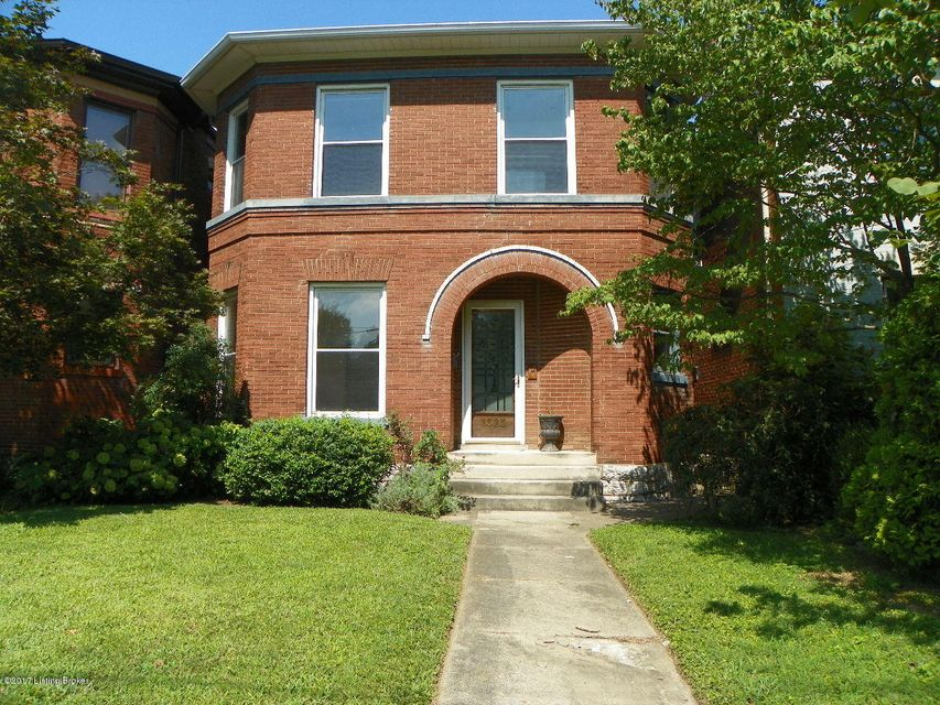 Single Family Home for Sale at 1323 Bellwood Avenue Louisville, Kentucky 40204 United States