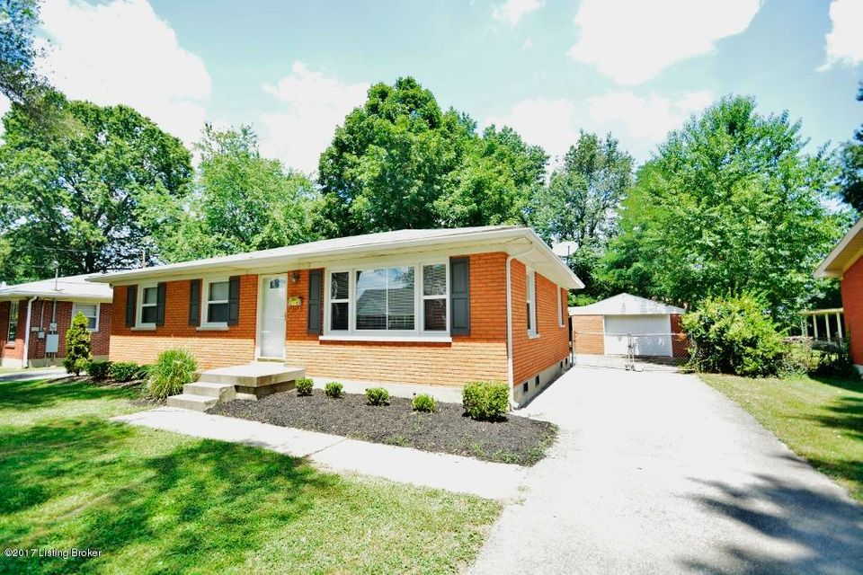 Single Family Home for Sale at 5605 Undine Drive Louisville, Kentucky 40216 United States
